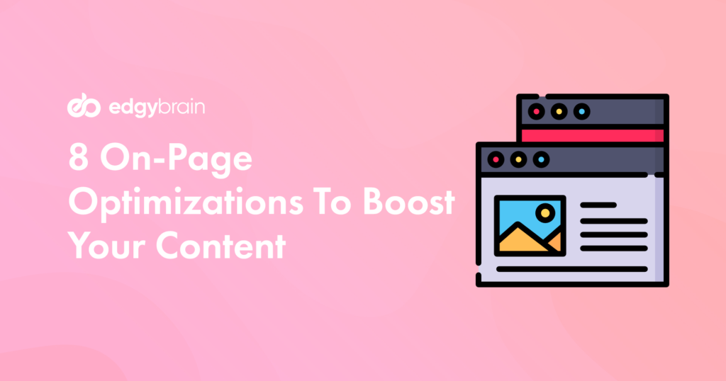 On-Page Optimizations
