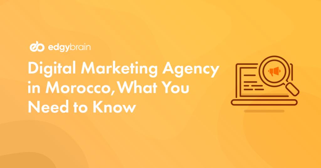 Digital Marketing Agency in Morocco